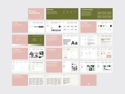 SANTONA Brand Guidelines brochure design templates templates corporate design typography graphic designer minimal download brand design indesign templates design template template indesign adobe indesign adobe graphics brand guidelines branding graphic design design