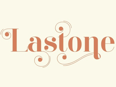 LastOne Display Font