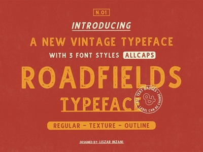Roadfields Typeface