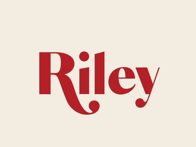 Riley Typeface