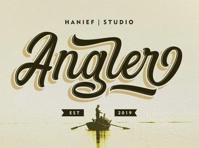 Angler - Vintage Script Font