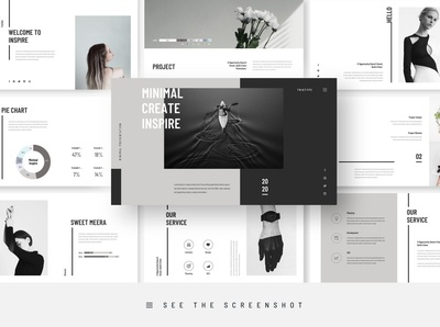 Inspire Minimal PowerPoint Template