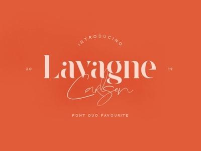 Lavagne Carlsen Typeface