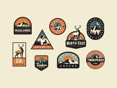 Adventure Badge Logos