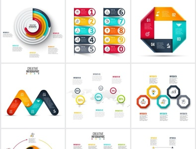 2000 Infographics Template