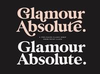 Glamour Absolute Modern Vintage Font