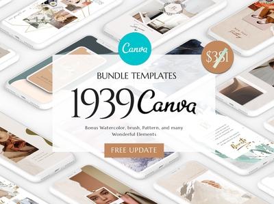 CANVA Bundle Social Media Pack