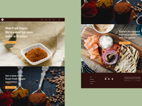 Fresh Pepper Website-Desktop