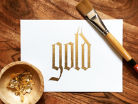 30 Days of Gilding-Gold