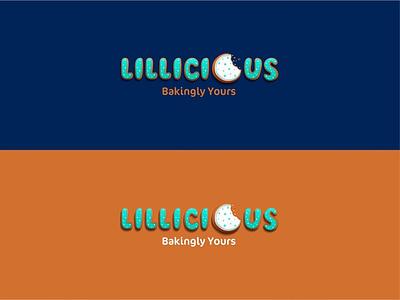 LILLICIOUS LOGO indesign ui socialmedia branding design coreldraw photoshop vector illustration graphicdesign typogaphy logo