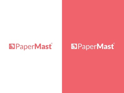 Logo design concept [ PaperMast ]