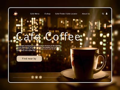 Cafe Coffee Day web UI re-design concept web design redesign concept branding uiux of coffee page awesome coffee ui design awesome design awesome web ui redesign coffee website coffee web app web ui uiux design coffee web ui design coffee page ui design coffee ui coffee cafe redesign