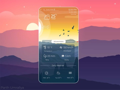 Weather app weather widget weather information weather display nature app ui awesome weather latest creative weather design weather app creative creative weather app creative weather forecast weather app ui weather app weather design ui design awesome design awesome ui ux creative design