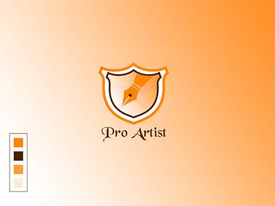 Logo Design [ Pro artist logo ] fancy logo logo style logo design concept logo work creative logo logo art symbol logotype logo design branding proartist artist pro logo design design vector awesome ui creative design awesome design illustration logo