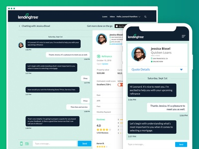 Loan Officer Chat Interaction