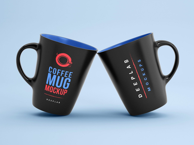 Coffee Mug Mockup coffee bean dark cup design branding mockup template photorealistic mockup design mockup template shop coffee cup tea cofee coffee