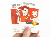 Creative Clash Principal Cards