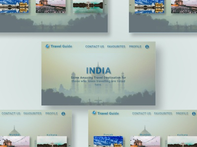 Showcase Design TravelGuide
