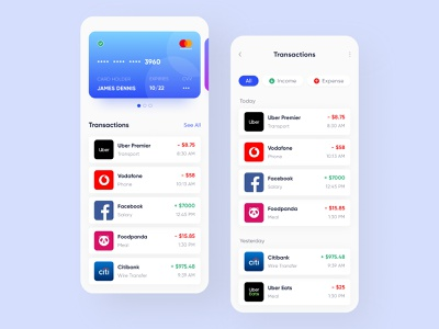 Digital Wallet App Design purse money management mobile banking mobile app app app design payment exchange crypto expense income budget bitcoin money transaction send money finance credit card wallet bank