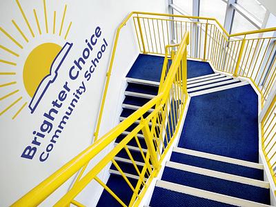 BCCS Rebrand Concepts modular logo visual identity k-12 school logo identity logo rebrand education
