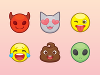 Some Emojis