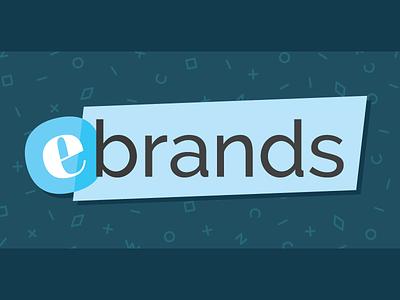 eBrands Refresh assets pattern brand logo vector e-commerce refresh identity branding
