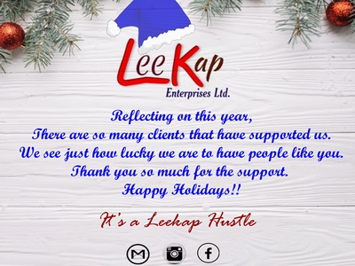 LEEKAP Christmas message 2019