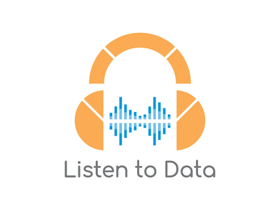 Listen to Data logo design