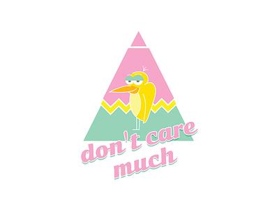 A bored Bird design illustration