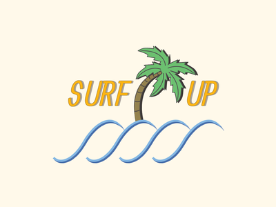 Surf Up Logo logo design