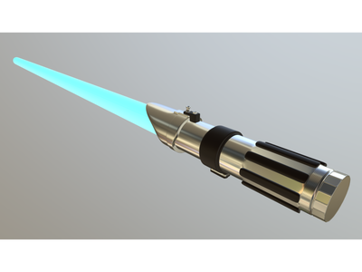 Lightsaber blender3d 3d