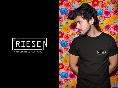 Friesenriese logo logo design