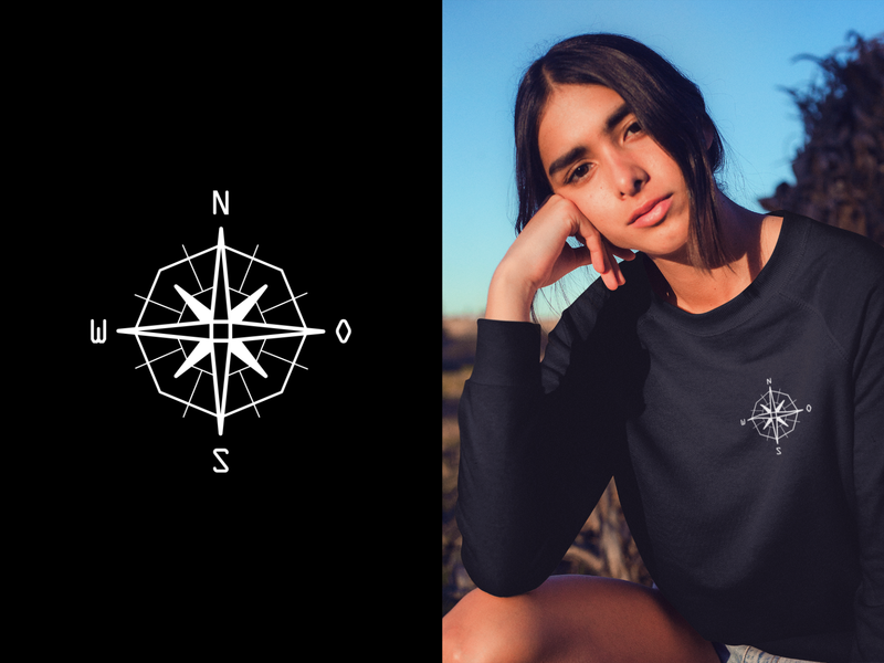 Compass fashion geometry design