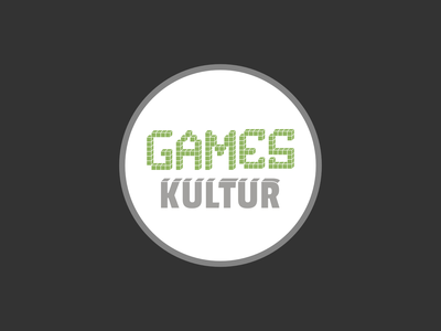 Logo Blog Gameskultur vector logo design affinitydesigner