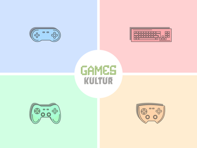 Game Controller affinitydesigner design vector illustration