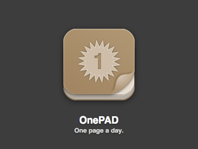 OnePAD Icon (Revised) icon ios app