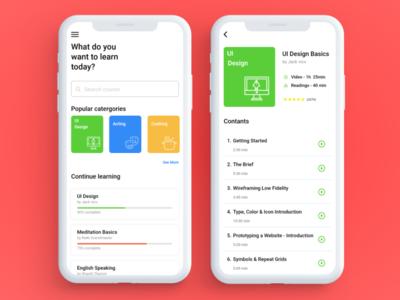 Online_Learning_App_UI Design