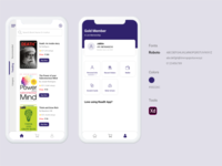 Online_Book_Purchase App UI Design