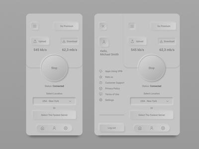 skeuomorphism navigation app