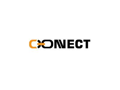CONNECT LOGO vector design typography mordan logo mimimal professional logo logodesign mimimal logo logo design crative logo