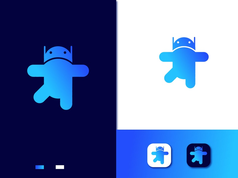 Android App branding logo design - app icon logo anroid app icon logomarks brading design logo logoinspirations icon 3d logo mimimal logo logo design professional logo crative logo mimimal mordan logo abstract logodesigner logotype logos app branding app icon arrow