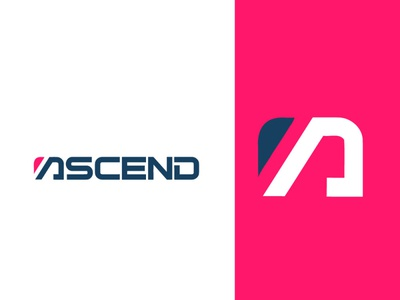 ASCEND  logo design -  A letter logo icon mimimal app app logo professional logo crative logo branding design 3d arrow morden flat logo minimalist