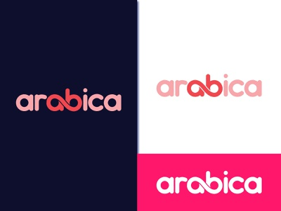 arabica logo design flatdesign arrow logo icon design professional logo mimimal logo crative logo flat propesonal 3d mordan logo logo minimalist