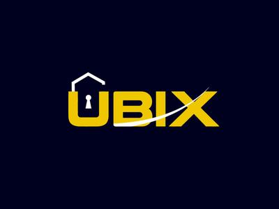 UBIX Branding logo design ubix logo latter logo brand identity branding logo design icon professional logo mimimal mordan logo crative logo app mimimalist flat logo 3d arrow logo