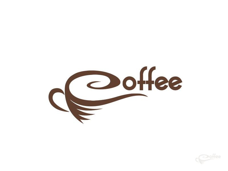Coffee Logo mark branding - logo folio 2020 logo logos minimalist minimal professional logo mordan logo victor illustrator coffee cup graphic design creative design clean coffee branding app folio latter arrow flat 3d