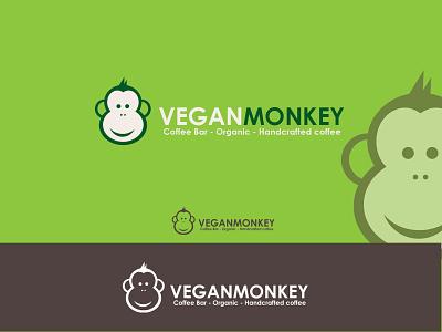 Monkey logo design symbol vector design crative logo identity icon monkey branding mark logotype logodesign logos logo