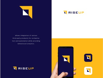 rise up logo identity logos logodesign logo design symbol branding icon logo