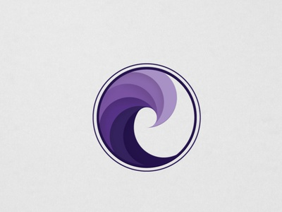 Waves wave logo flat logos illustration vector ocean design branding icon logo wave