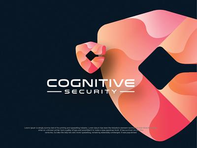 Cyber Security logo logomark logotype security cyber security cyber ai job business sales technology crative logo design icon logos logo design mordan logo branding logo graphic design