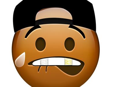 Fuxkboy emoji illustration graphic design african american emoji